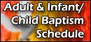 Baptism Schedule